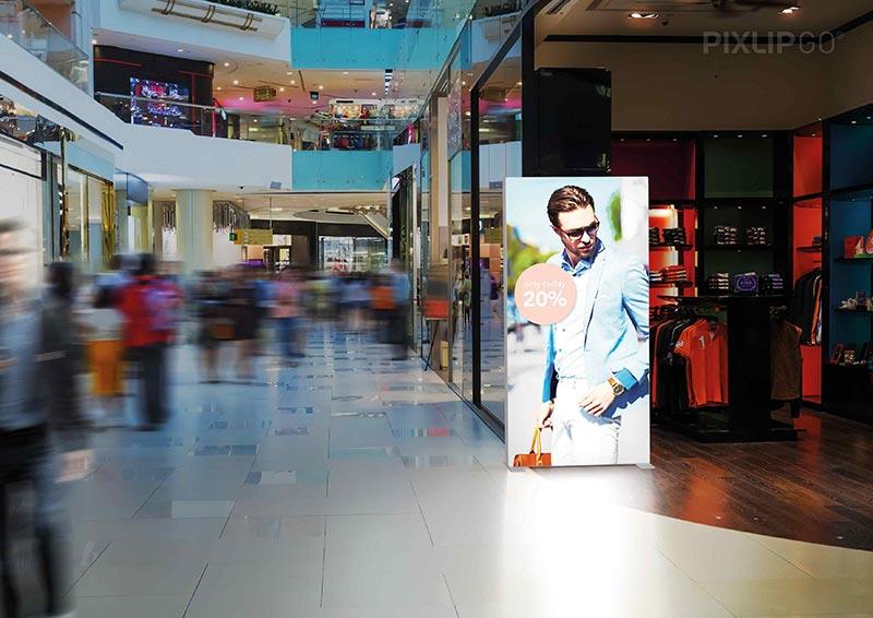 Retail Diaplay Pixlip Go Lightbox