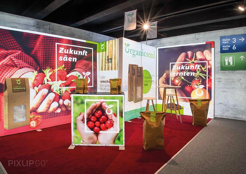 Pixlip Go Exhibition Stand