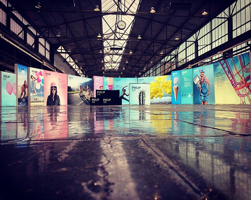 Pixlip Go Exhibition Stand Display