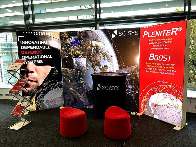Scisys Pixlip Go Exhibition Stand